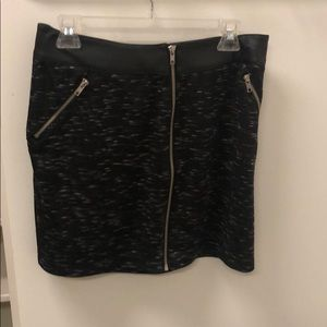Rock and republic mini skirt leather band size M